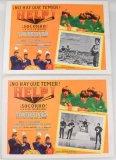 1965 Help! Original Mexican Lobby Card Set