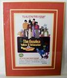 """Yellow Submarine"" Framed Beatles Window Poster"