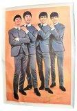 Original Beatles 1964 Giant Promo USA Poster
