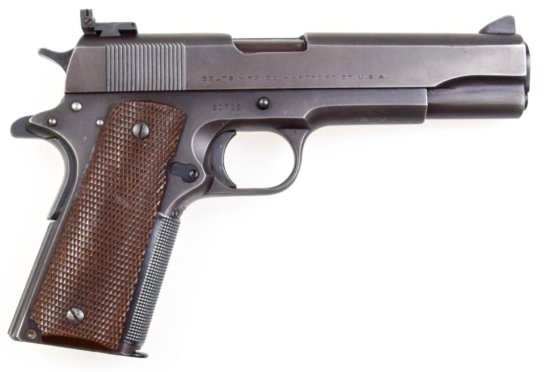 Colt Super .38 Model Automatic .38 Super