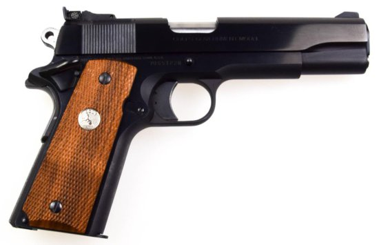 Colt Gov't Model MK IV/Series 70 9mm Steyr