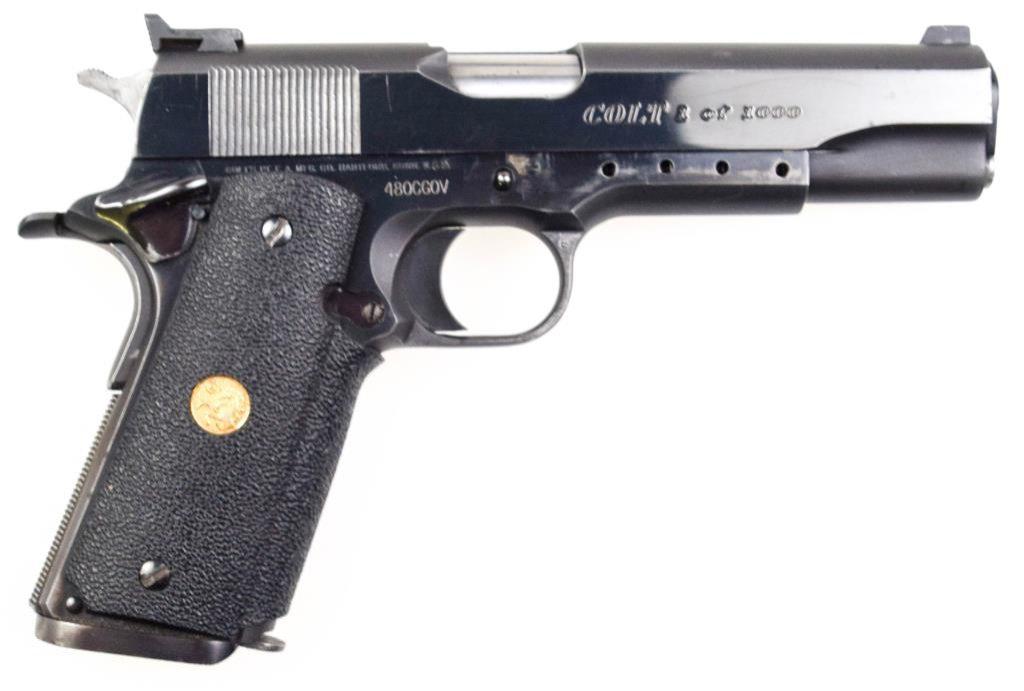 Colt Custom Gov't .45 ACP
