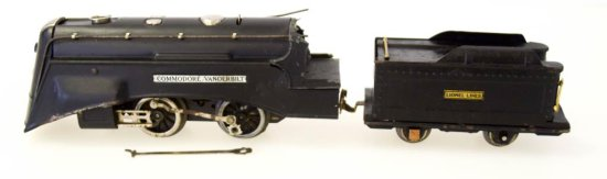 Prewar Lionel Commodore Vanderbilt Locomotive No. 265 & Tender