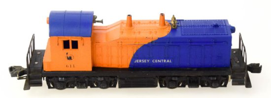 Lionel Jersey Central  Diesel Switcher No. 611
