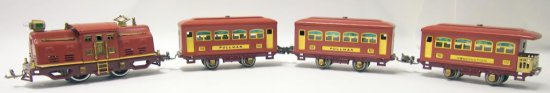 Lionel Prewar 4-Car Train Set