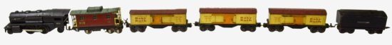 Lionel Pre War 4-Car Freight Set