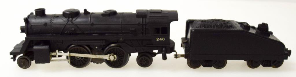 Lionel No. 246 Scout Locomotive & Tender