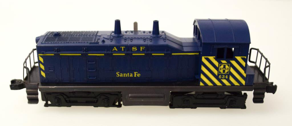 Lionel A.T. & S.F. NW-2 Diesel Switcher No. 634