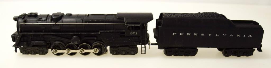Lionel Turbine S-2 Locomotive No. 671 & Tender