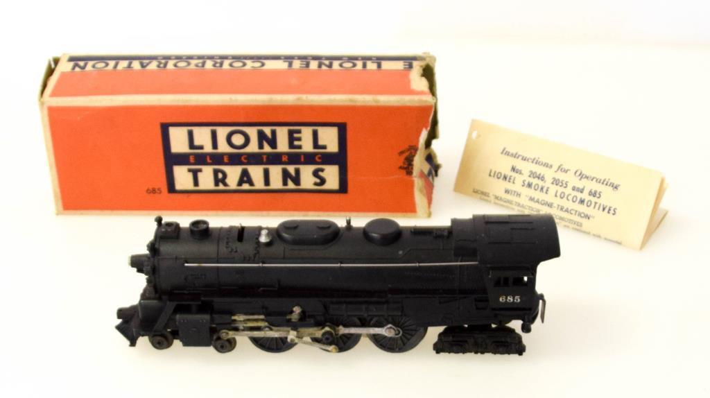 Lionel Hudson Type Steam Locomotive No. 685