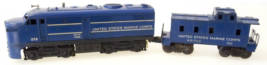 """United States Marine Corps FA """"A"""" Unit No. 212& Caboose"""