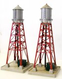 2) Lionel Industrial Water Towers