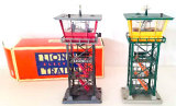 2) Lionel Control Towers