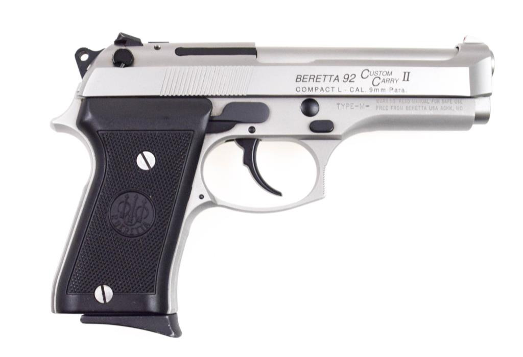 Beretta Model 92 Custom Carry II 9mm Para