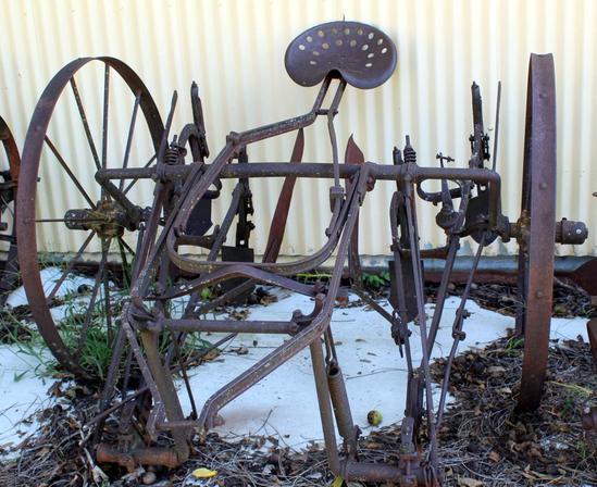 Horse drawn cultivator
