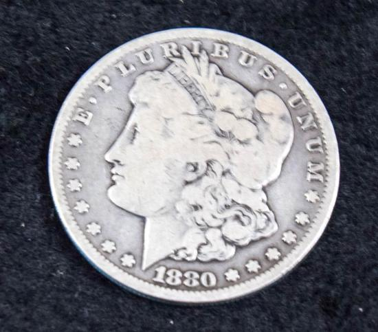 1880 CC Morgan Silver Dollar