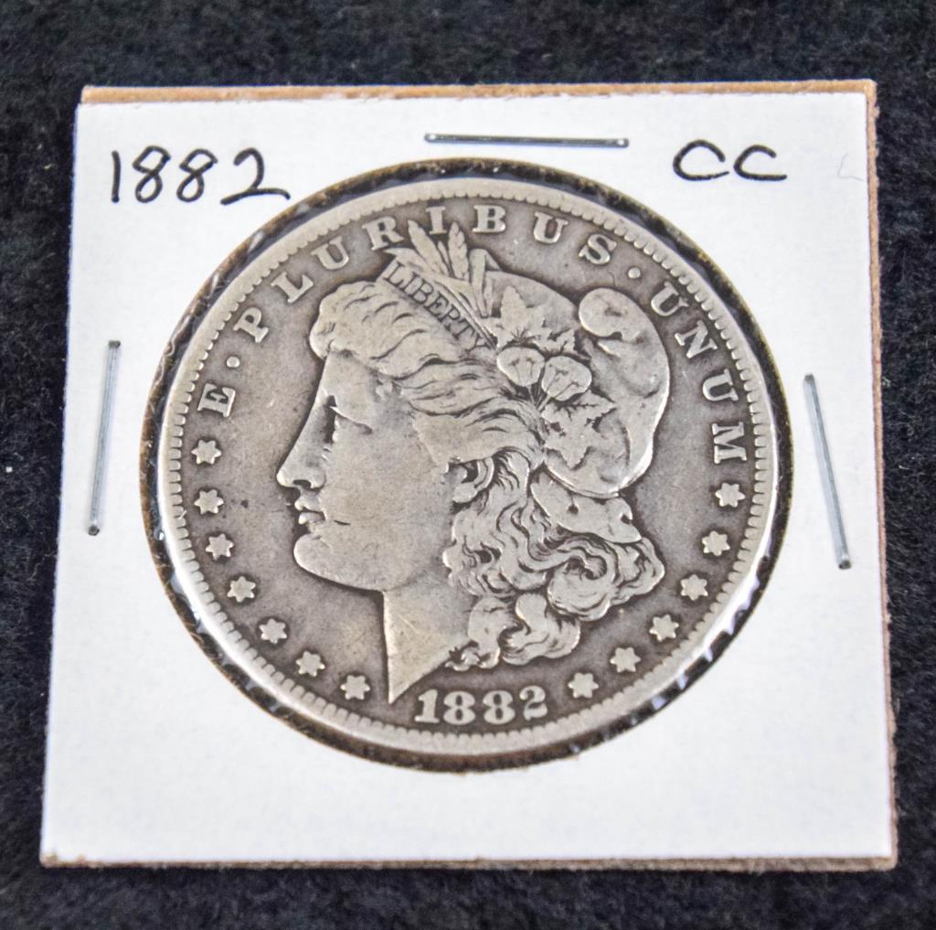 1882 CCMorgan Silver Dollar
