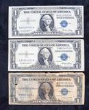 1935 E & H Series Blue Seal Silver Certificates