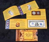 2001 US American Buffalo Coin & Currency Set