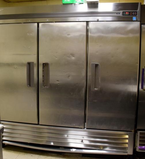 Intertec 3 door s/s freezer