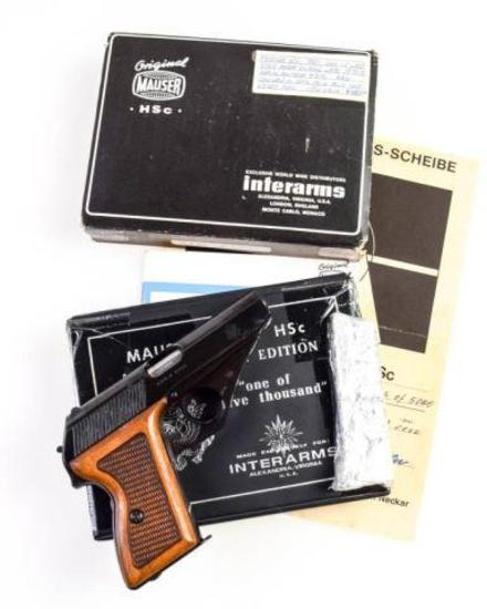 Mauser-Werke/Interarms HSc America Eagle .380 ACP