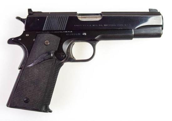Colt Government Model MIV/Series 70  .22 lr