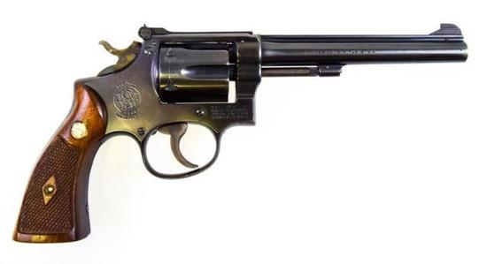 S&W K-22 Masterpiece (postwar, 3rd Model) .22 lr