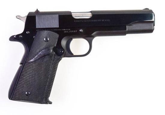 Colt MK IV Series 70 Government Model 9mm Luger
