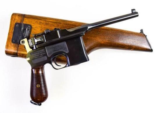 Chinese Mauser C-96 9mm Para