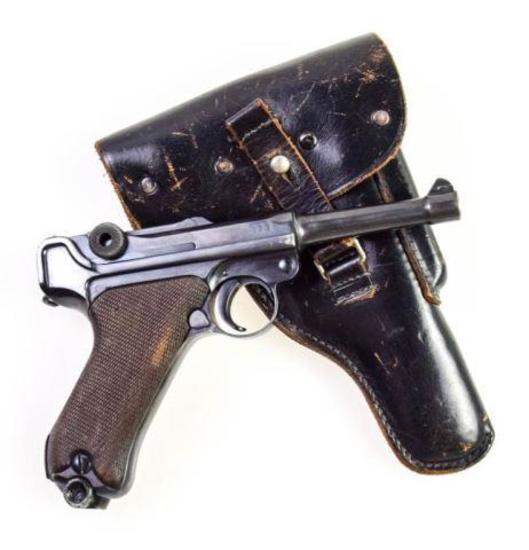 DWM Luger 1914 Military 9mm