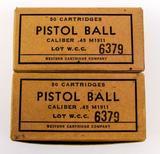 Western Cartridge .45 M1911