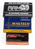 RAM, PMC, & Magtech .380 auto ammo