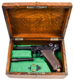 Mauser Luger S/42, dated chamber 7.65x21