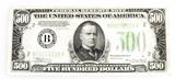 1934 series $500 bill