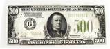 1928 series $500 bill