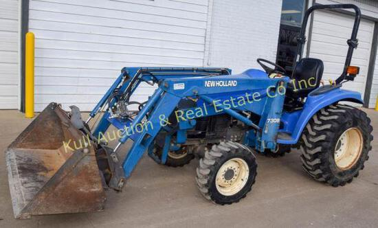 2002 New Holland TC29 4 Diesel tractor