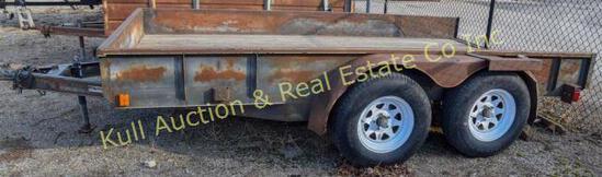 Bohnert Welding LLC, 12' X 6' heavy duty flatbed
