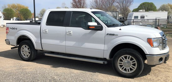 2013 Ford F-150 Lariat Crew Cab pick-up