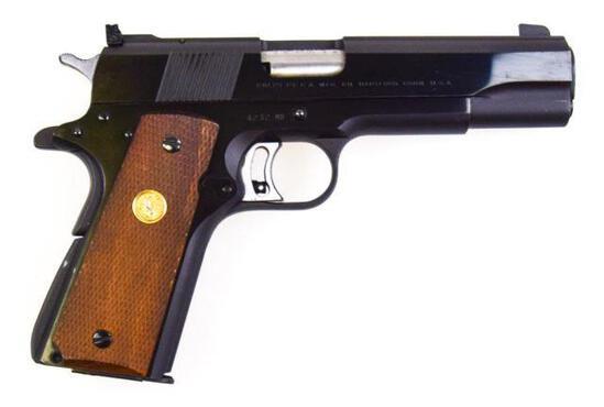 Colt - MK III National Match Mid-Range - .38 Spl Mid-Range Wadcutter