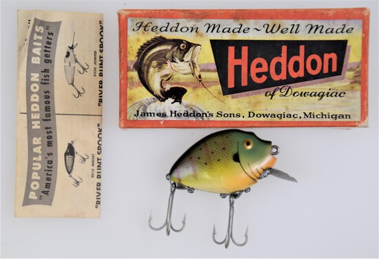 Collectible Fishing Tackle Online Only Auction