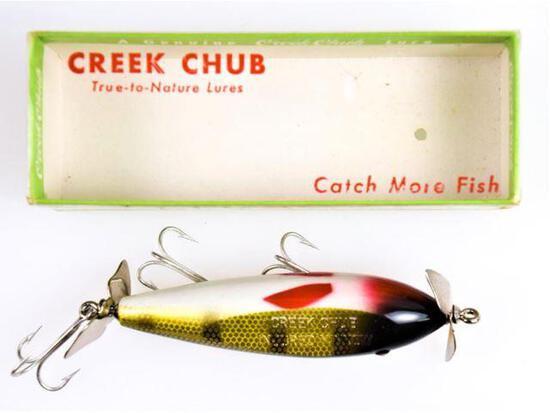 Creek Chub - Injured Minnow  - 1500