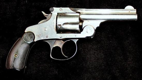 Smith & Wesson  - .38 cal Double-Action 3rd Model - .38 cal