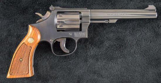 Smith & Wesson - Model 17-4 - .22 lr