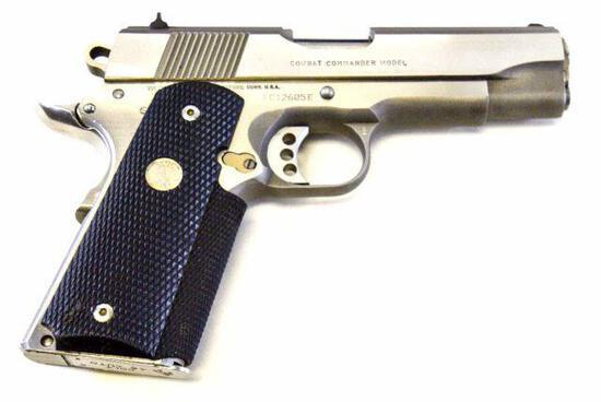 Colt - Combat Commander Model MKIV Series 80 - .45 ACP