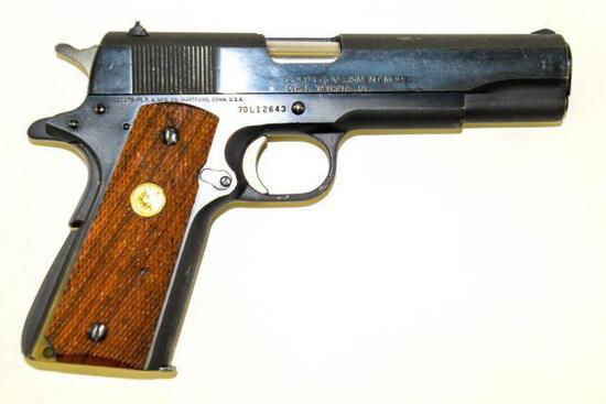 Colt/C.A.I. - Government Model MK IV, Series 70 - 9 mm Luger