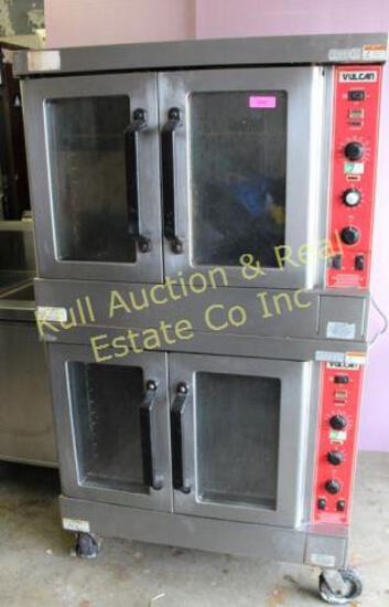 Vulcan dbl stack convection oven