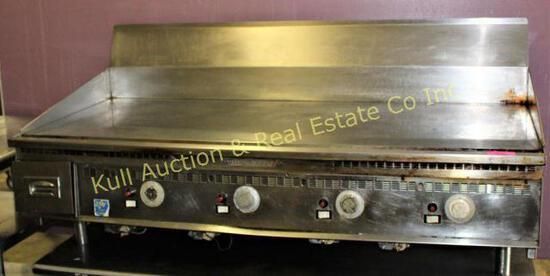 Keating 5' flattop grill (mirror)