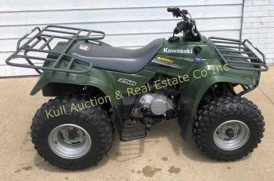 2006 Kawasaki Bayou 250 ATV