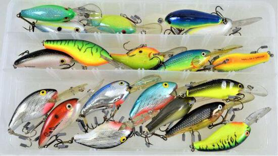 (19) Group Asst'd Bagley and Rapala Lures