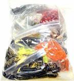 (5) Pounds of Asst'd Fish Bait Gummy Worms